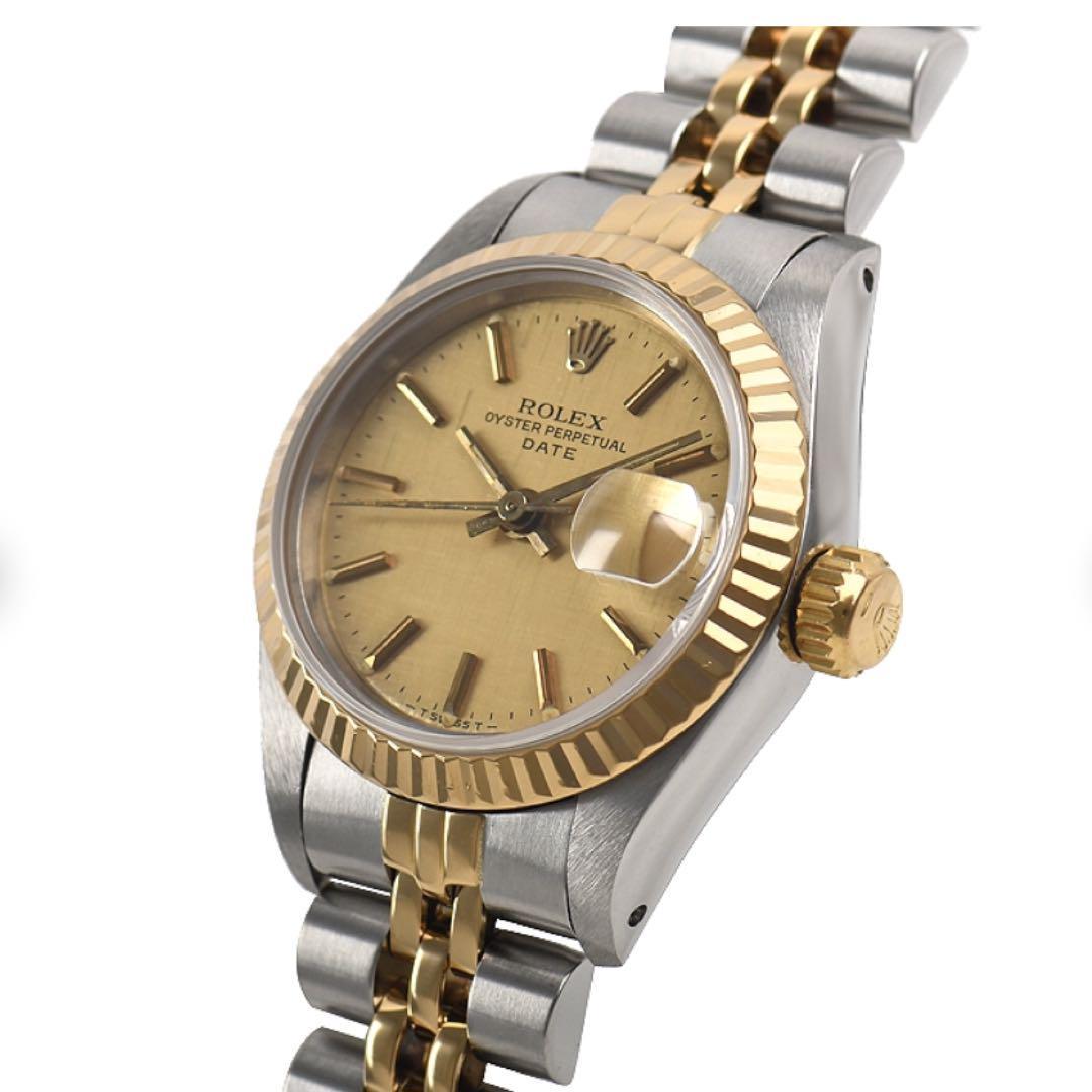 official photos 04f7f b1d39 レディース 腕時計 ロレックス デイトジャスト(¥ 420,000) - メルカリ スマホでかんたん フリマアプリ