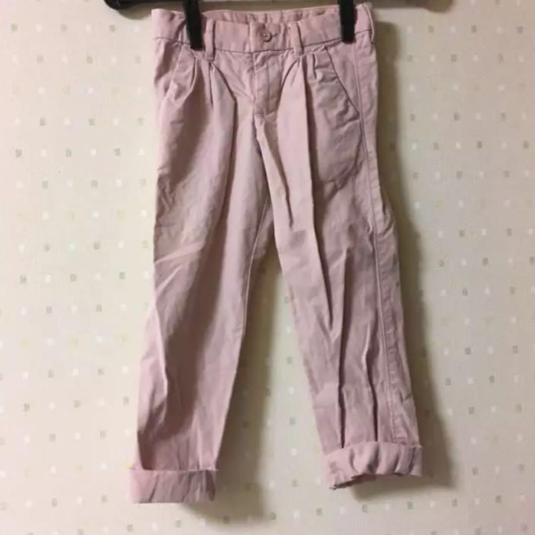 7241c0c3b7e73 メルカリ - 120 ボトムス GAP KIDS ピンク ズボン 子供服 春  パンツ ...