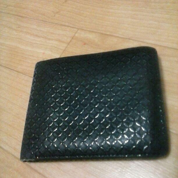 100% authentic c0d7f b29bc 値下げ印伝屋二つ折り財布メンズ(¥1,000) - メルカリ スマホでかんたん フリマアプリ