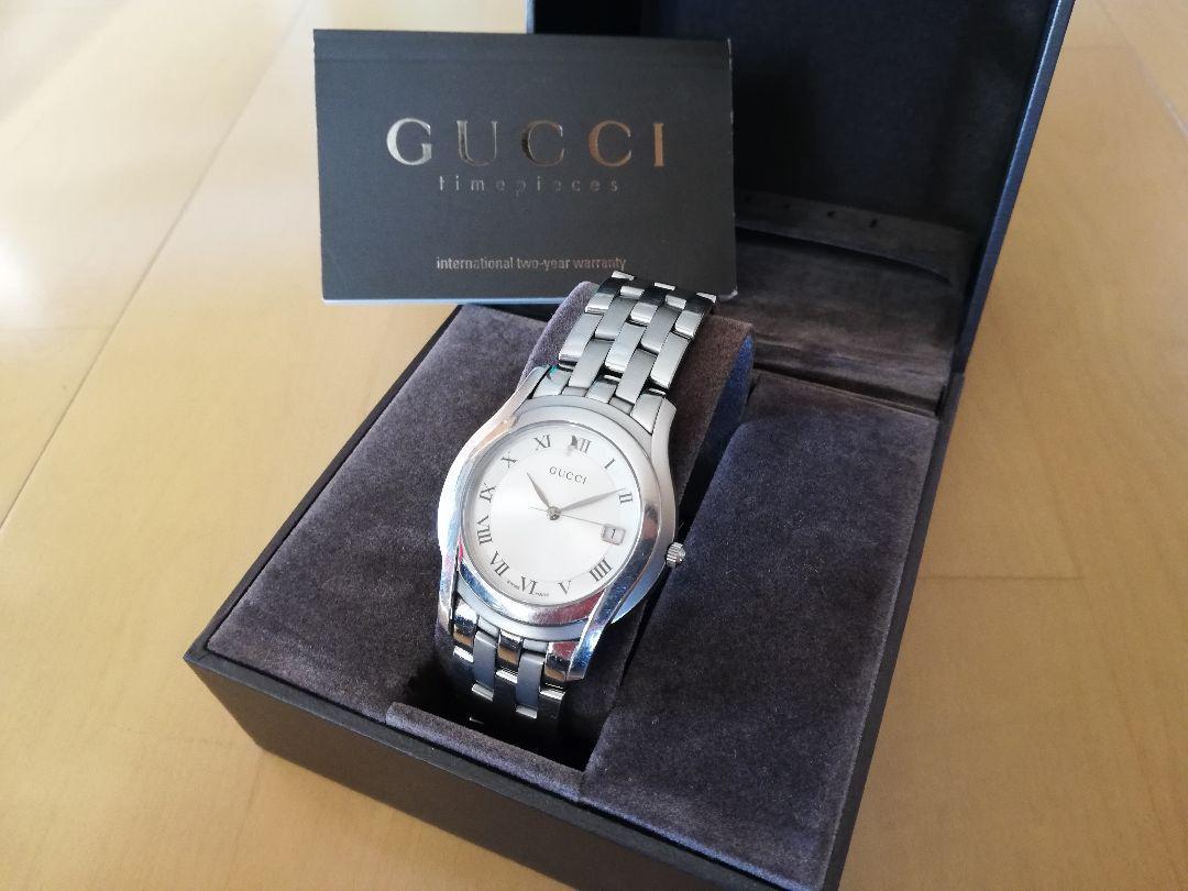 buy online 67d75 33b0f GUCCI 腕時計 メンズ グッチ 男性用ウォッチ(¥7,800) - メルカリ スマホでかんたん フリマアプリ