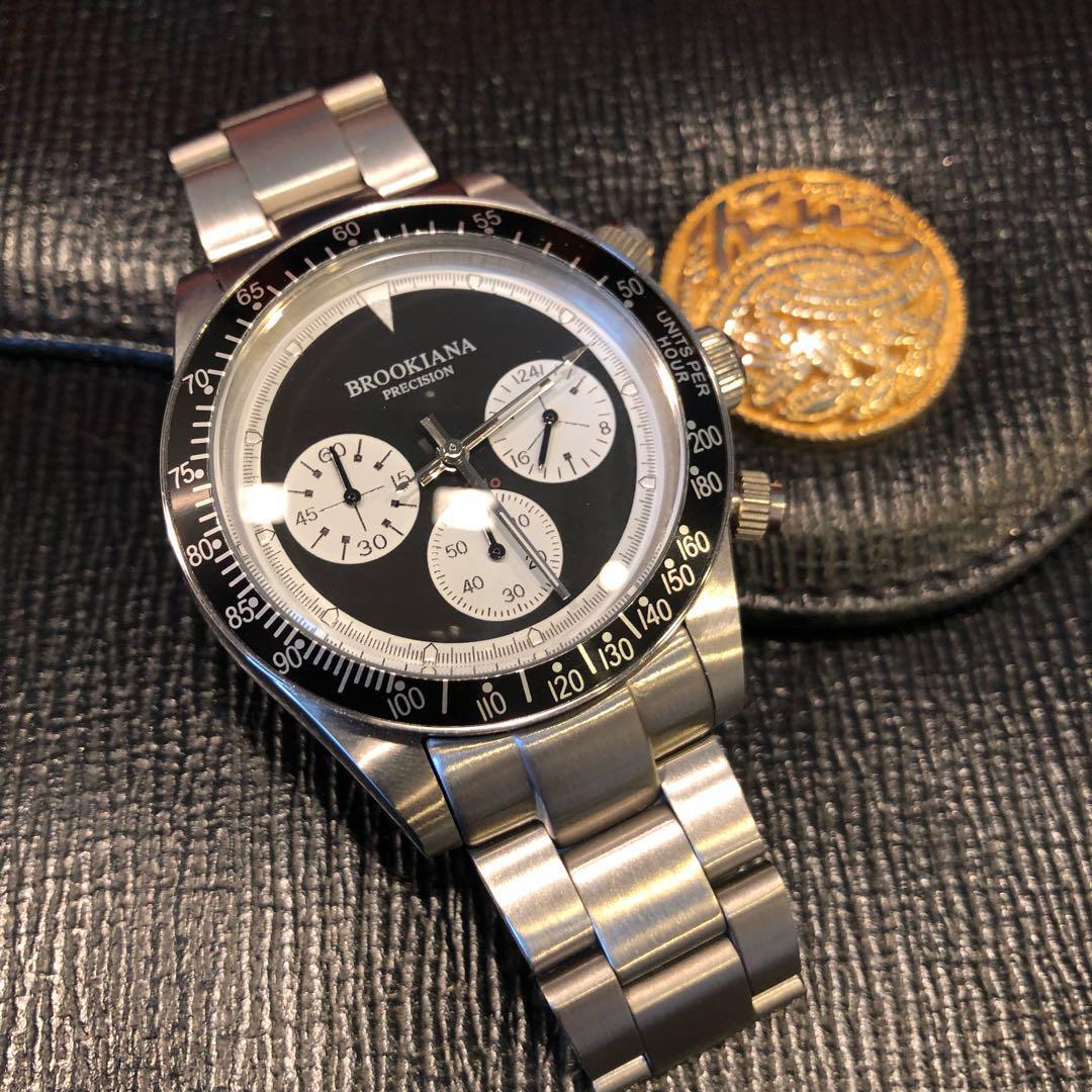 huge discount 9a983 5275a ポールニューマン・デイトナタイプ 美品コレクション クロノグラフ 腕時計(¥7,000) - メルカリ スマホでかんたん フリマアプリ