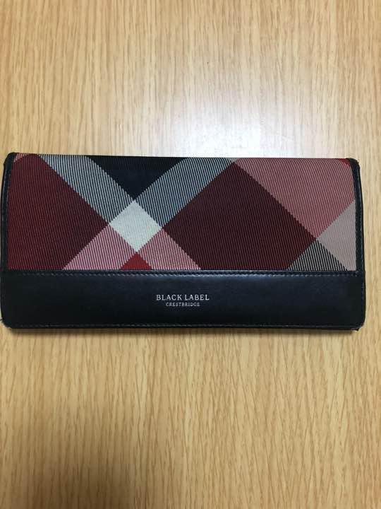 buy online b48fd 83c52 バーバリー ブラックレーベル 財布 楓さま専用(¥3,300) - メルカリ スマホでかんたん フリマアプリ