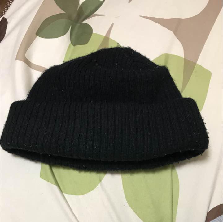 ニット帽 黒 野村周平 ビーニー(¥1,500) , メルカリ スマホでかんたん フリマアプリ