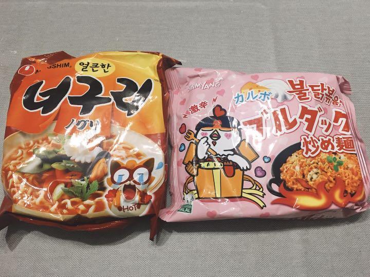 カルボ ブルダック 炒め 麺