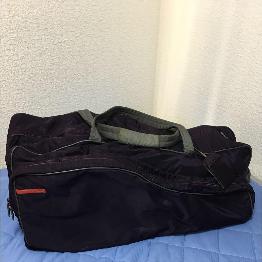 new product e6449 a7c5c プラダ スポーツバッグ テニスバッグ ボストンバッグ(¥10,000) - メルカリ スマホでかんたん フリマアプリ
