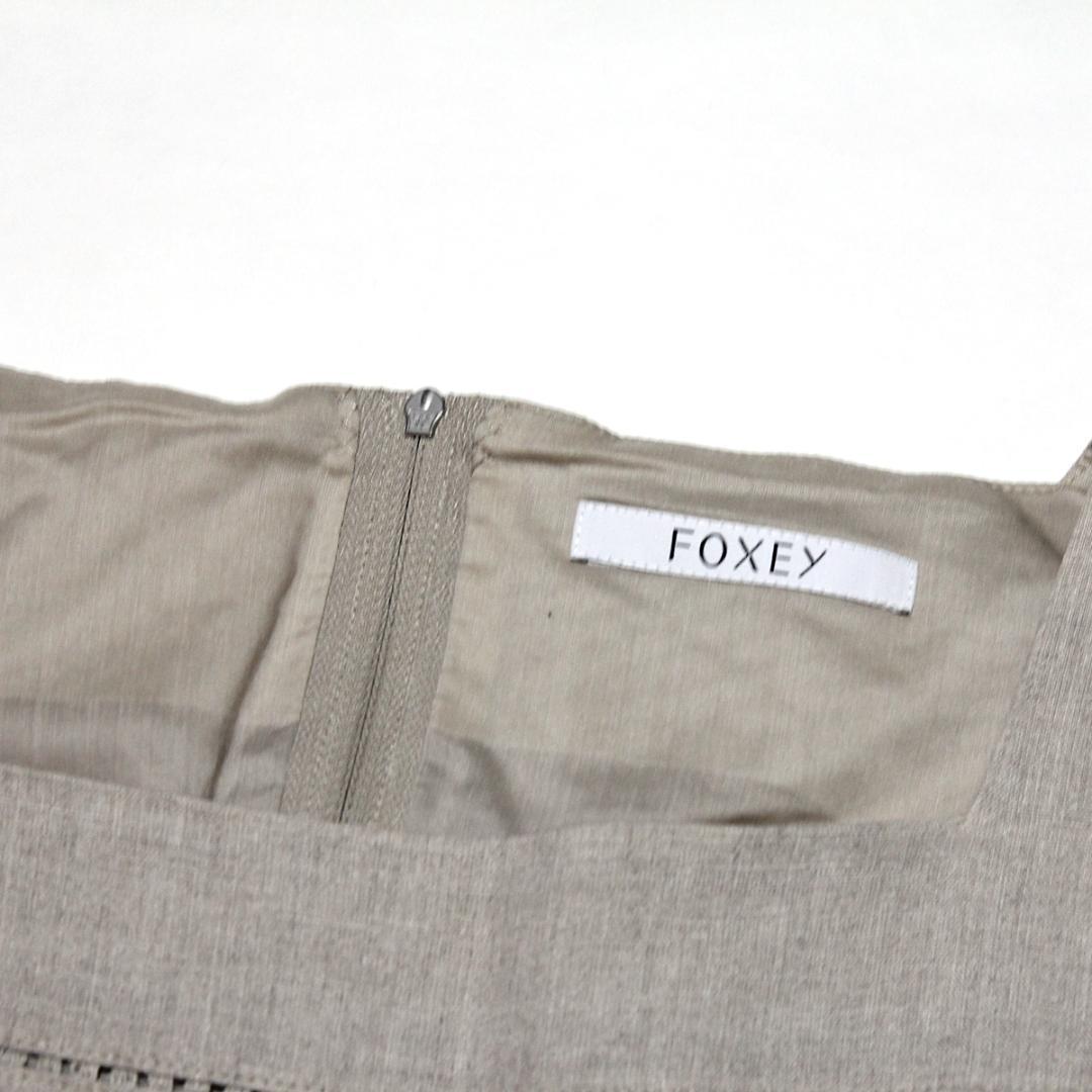 FOXEY フォクシー 36697 プロヴァンス リネン ワンピース