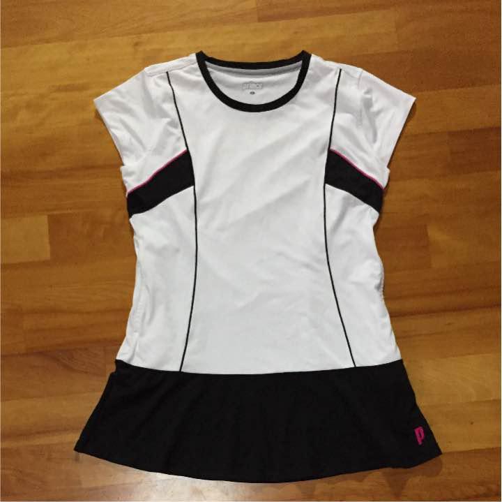 83d228891974a メルカリ - プリンス L 白ワンピース テニスウェア 【プリンス】 (¥900 ...