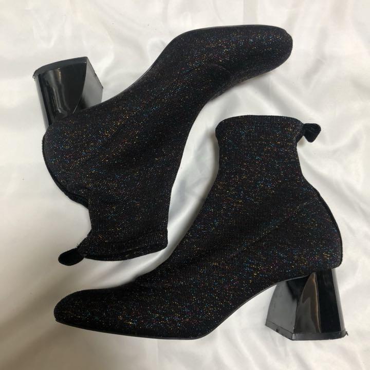 Zara ソックス ブーツ