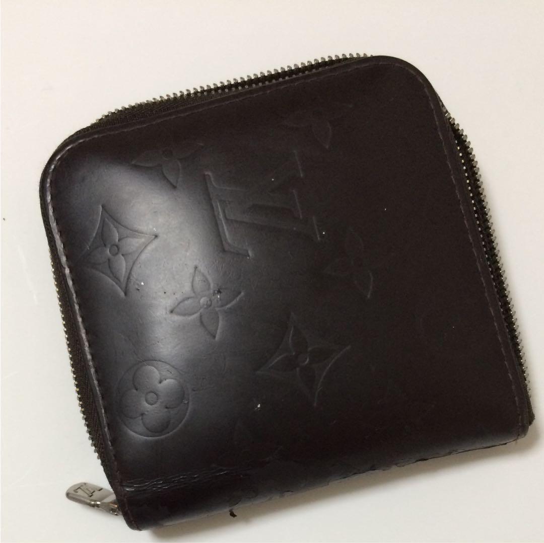 sports shoes 2a2b2 86141 ルイ ヴィトン モノグラム マット 財布 二つ折り メンズ(¥4,000) - メルカリ スマホでかんたん フリマアプリ