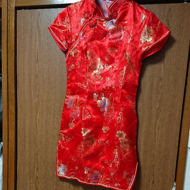 ドンキで購入したチャイナドレス(¥690) , メルカリ スマホでかんたん フリマアプリ