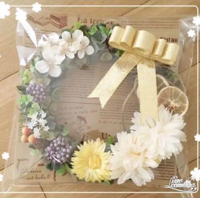 【特別特価】春色♡ガーベラ✖︎ローズのジュ〜シ〜爽やか春リース*・゜゜・*:.。