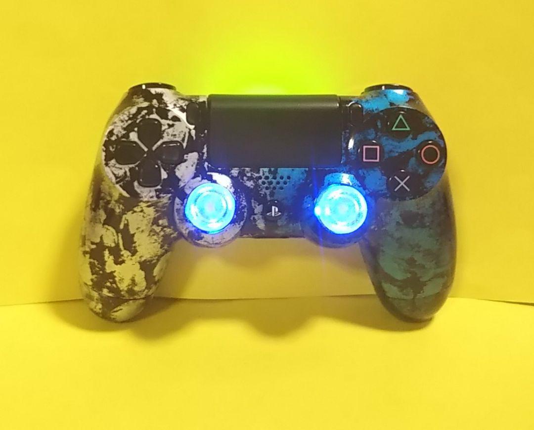 コンプリート Ps4 コントローラー 青点灯 ただのゲームの写真