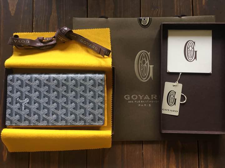 wholesale dealer c4c49 82b95 GOYARD グレー 長財布 [日本橋高島屋購入品](¥ 100,000) - メルカリ スマホでかんたん フリマアプリ