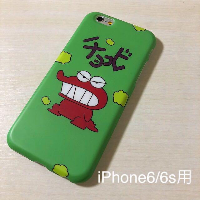 eddf616ddb メルカリ - iPhoneケース チョコビ 風 カバー グリーン 緑 クレヨン ...
