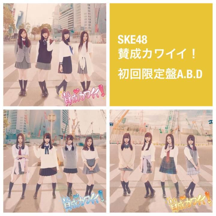 メルカリ - SKE48【賛成カワイイ 】初回限定盤ABD 3枚セット CD+DVD ...