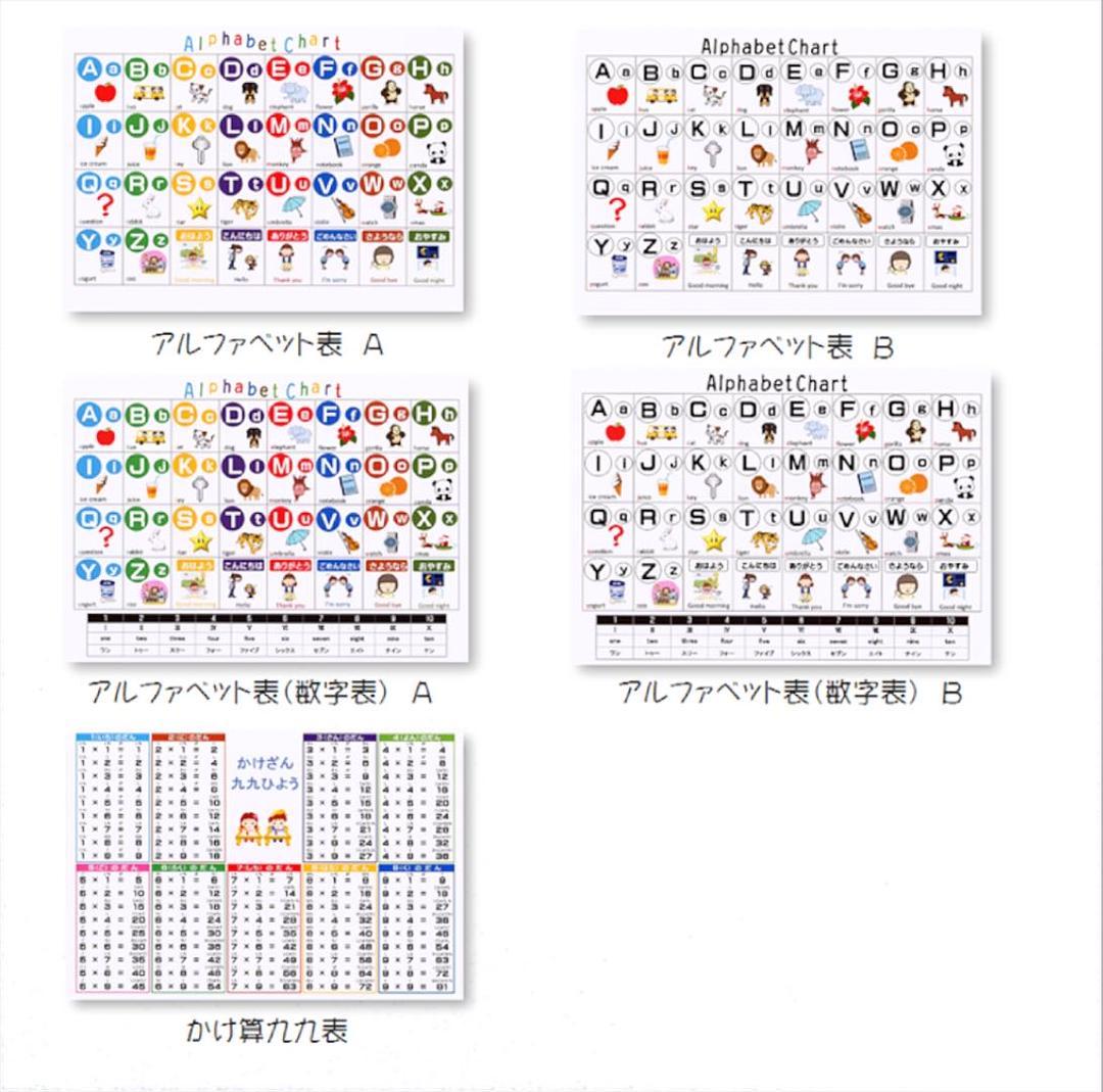 Naoちゃん様専用あいうえお表ひらがなカタカナ表520 メルカリ スマホでかんたん フリマアプリ