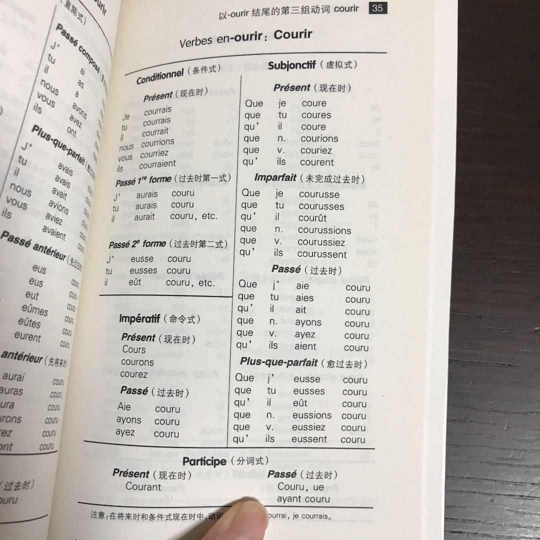 """áルカリ La Conjugaison Des Verbes Francais ŏ'考書 720 ĸå¤ã'""""未使用のフリマ"""