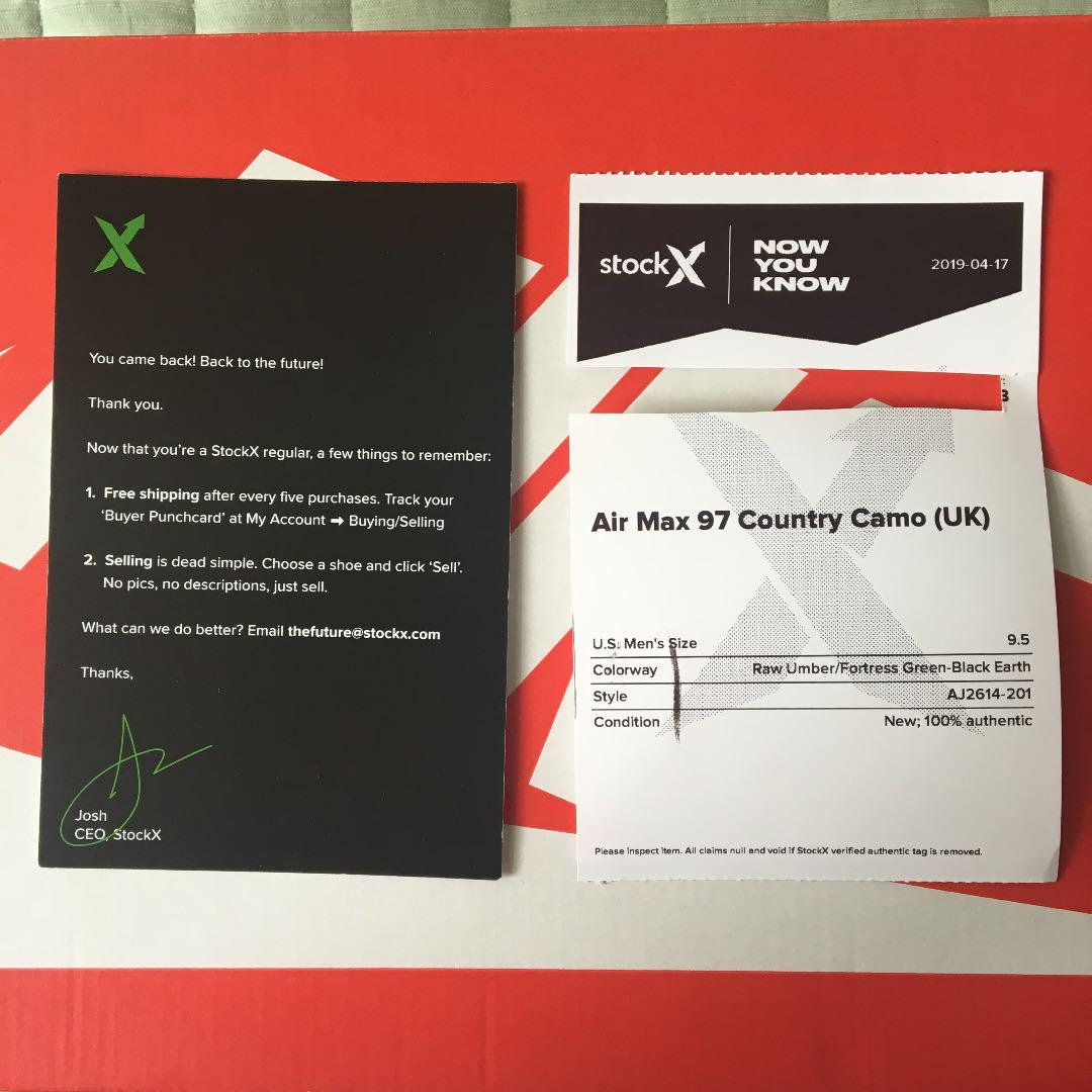 Nike Air Max 97 NEU Gr. 43 mit Originalkarton und Rechnung