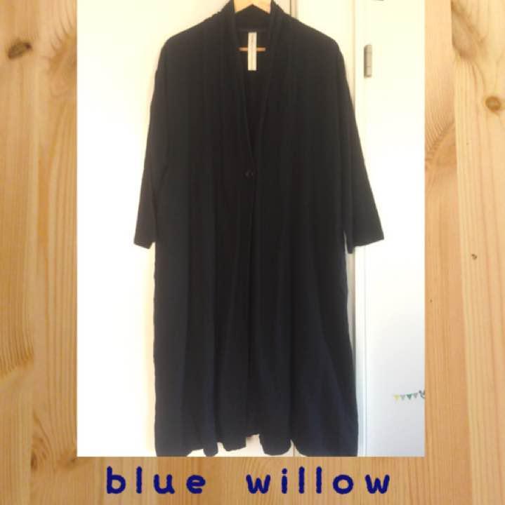 9680ee40ae698 メルカリ - ブルーウィロー blue willow ロングカーディガン ...