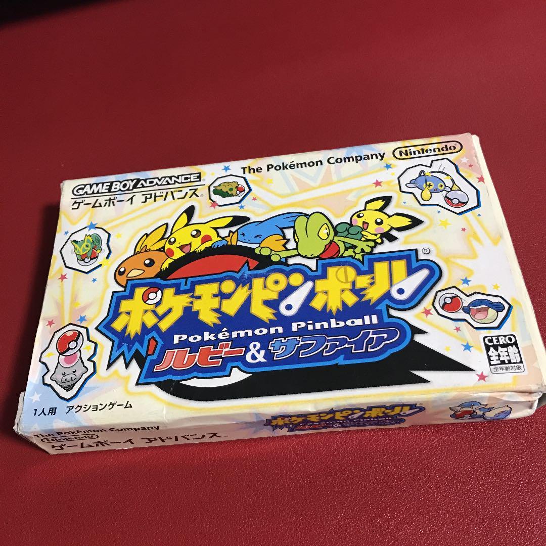 ゲームボーイアドバンス ポケモンピンボール(¥900) , メルカリ スマホでかんたん フリマアプリ