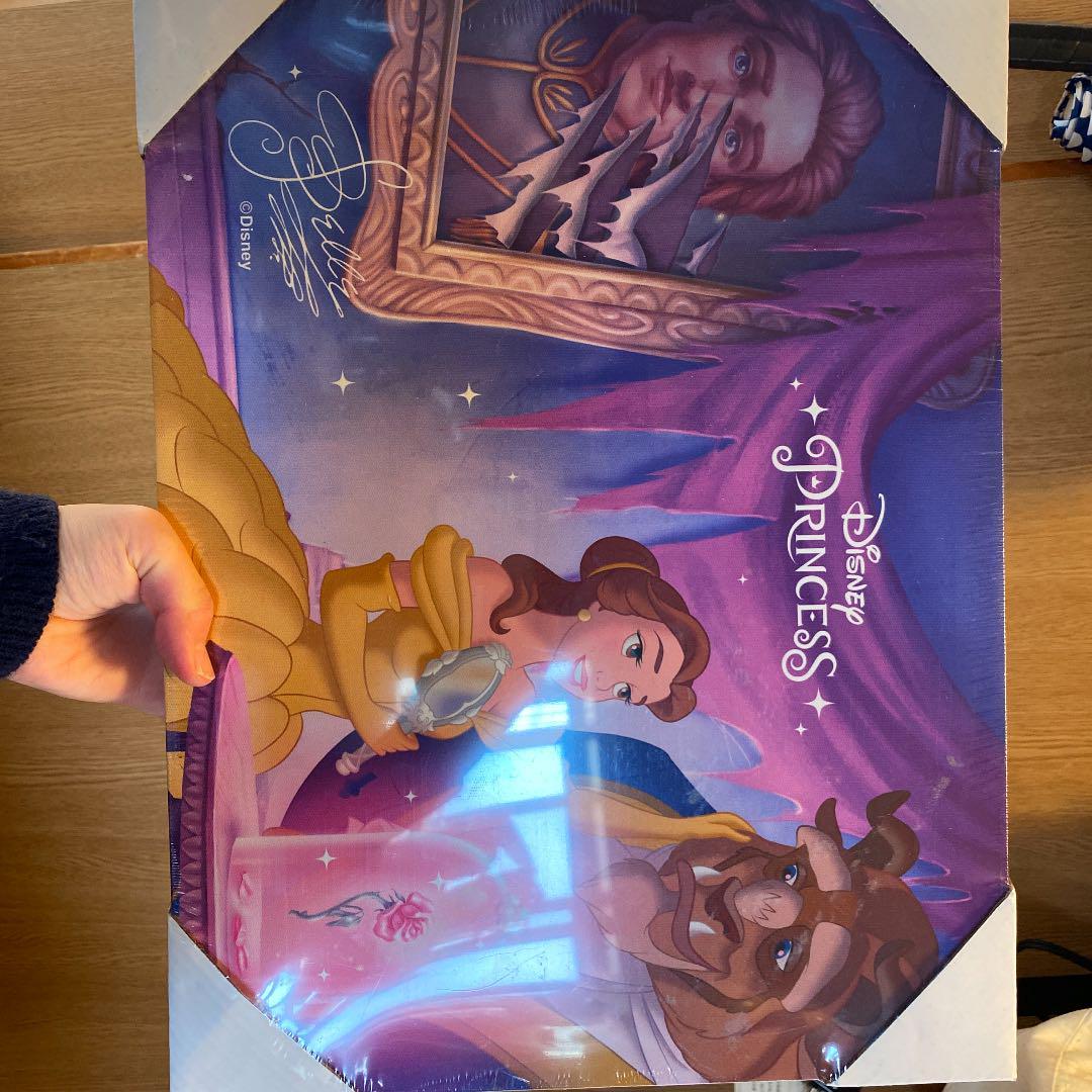 メルカリ 美女と野獣 光る壁紙 キャラクターグッズ 1 340