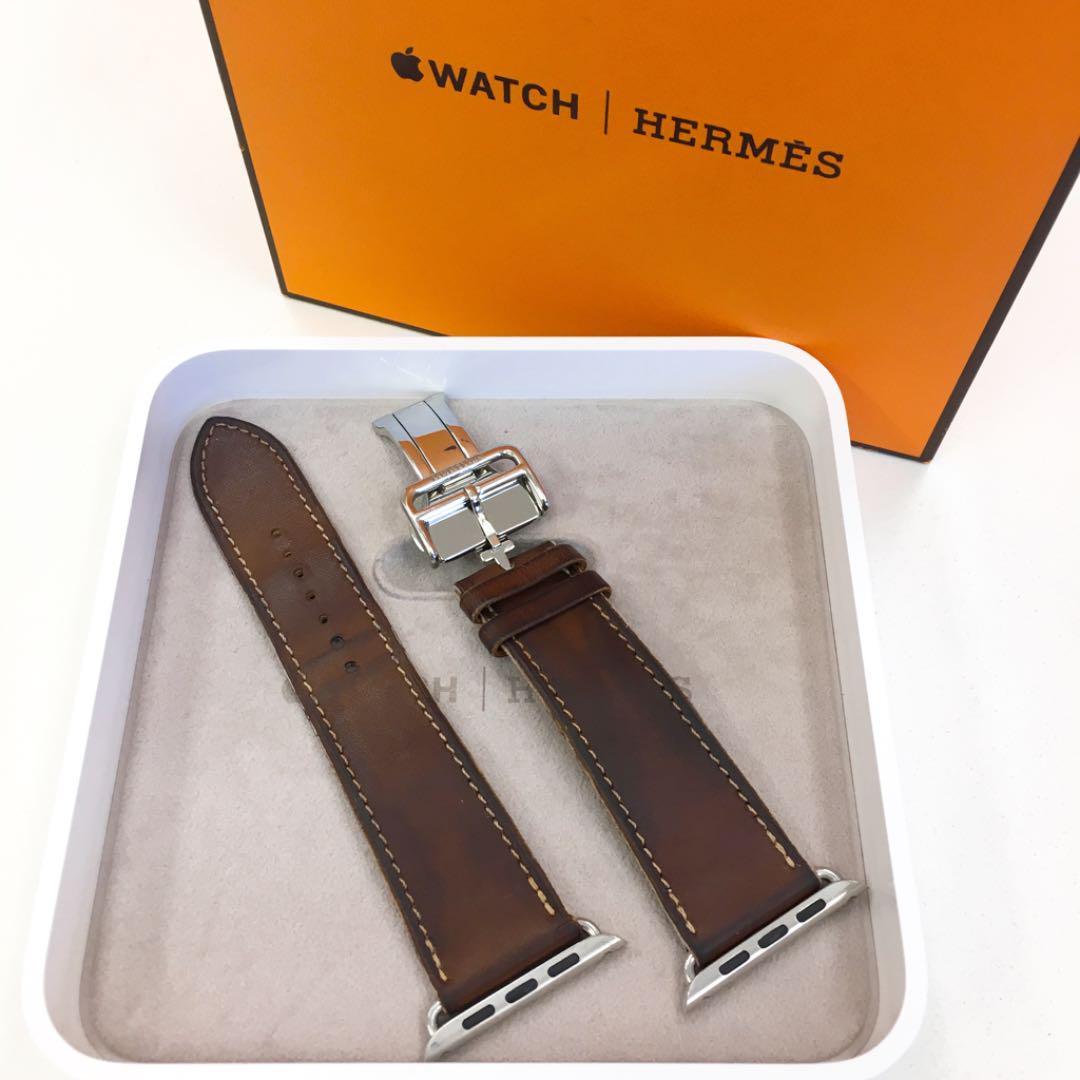 separation shoes 07cce f214e アップルウォッチ エルメス レザーバンド Apple Watch 42mm用(¥30,200) - メルカリ スマホでかんたん フリマアプリ