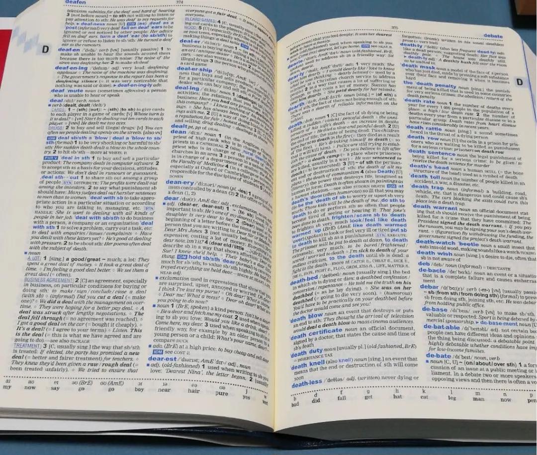 オックスフォード英英辞典