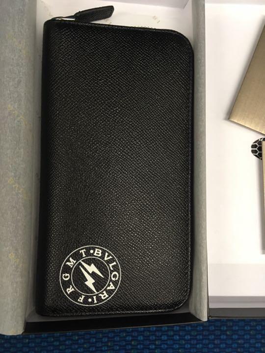 new product 9386c 2bb4d フラグメント ブルガリ 長財布 ジッピーウォレットルイヴィトン藤原ヒロシデザイン(¥90,000) - メルカリ スマホでかんたん フリマアプリ