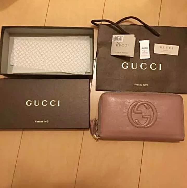 the latest 6143d b577b GUCCI soho グッチ ソーホー 長財布(¥11,000) - メルカリ スマホでかんたん フリマアプリ