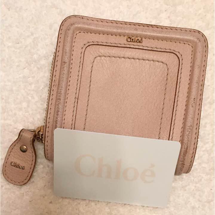 timeless design 0d63f d280b クロエ 折りたたみ財布(¥3,500) - メルカリ スマホでかんたん フリマアプリ
