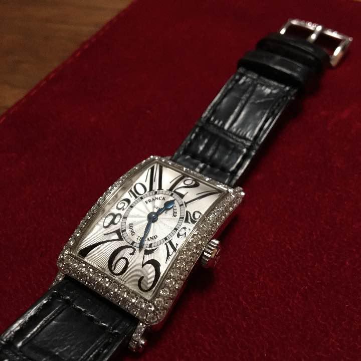 the best attitude 90634 29025 フランクミュラー ロングアイランド レディース 腕時計(¥450,000) - メルカリ スマホでかんたん フリマアプリ