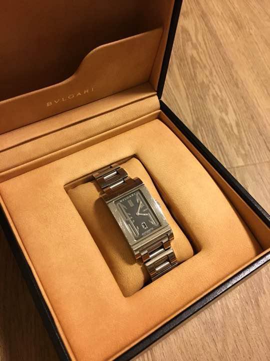 the best attitude 38632 e8b9a ブルガリ レッタンゴロ メンズ 腕時計 RT45S(¥66,500) - メルカリ スマホでかんたん フリマアプリ