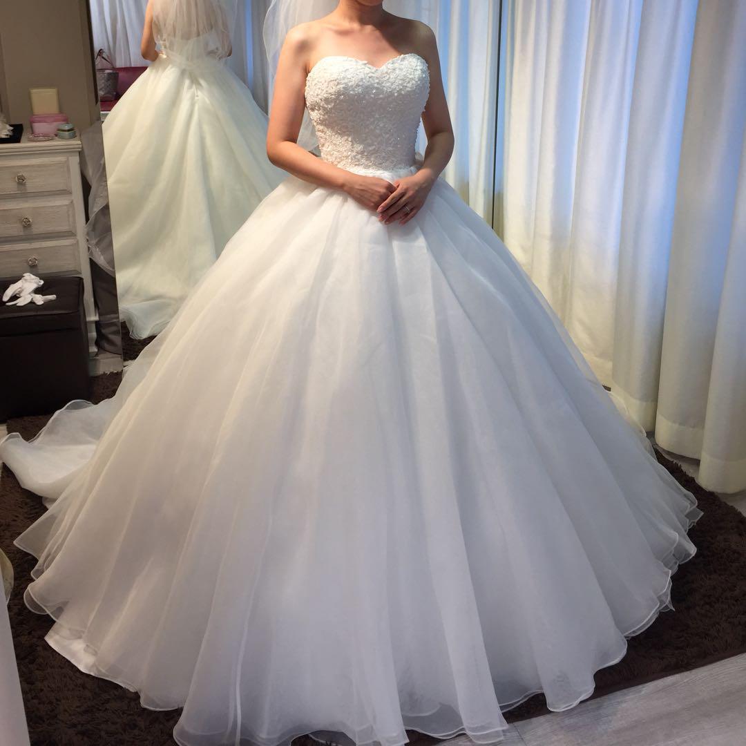 4a0d517612429 メルカリ - yns wedding ウエディングドレス  ウェディング  (¥29