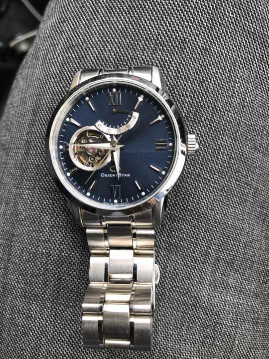 promo code 28495 99dbc 値下げ 腕時計 オリエントスター セミスケルトン WZ0081DA(¥26,900) - メルカリ スマホでかんたん フリマアプリ