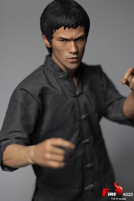 Fire A020 Bruce Lee 1 escala 4 Figura De Acción