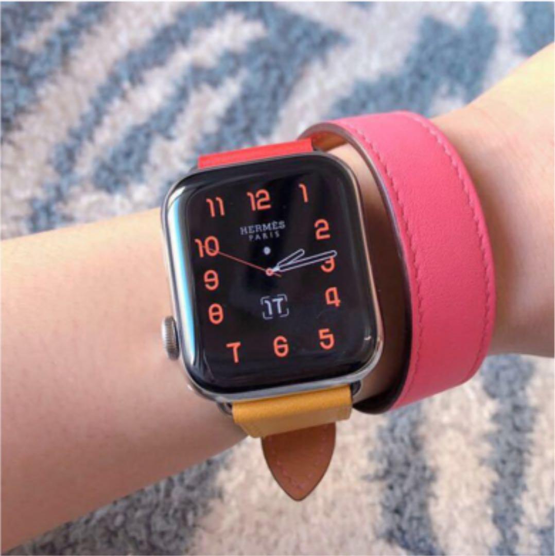 quality design 8f3c9 69bfa Apple Watch HERMES アップルウォッチ エルメス ベルト限定(¥52,000) - メルカリ スマホでかんたん フリマアプリ