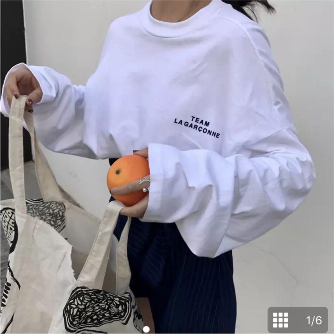「イチナナキログラム ルーズロングスリーブTシャツ」の画像検索結果