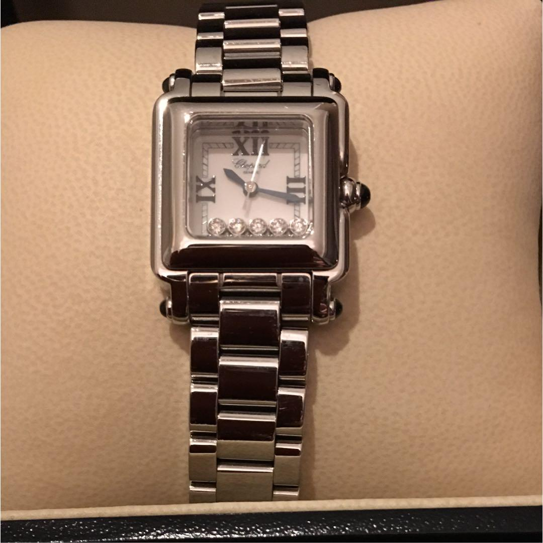 huge discount d131a 39b2d Chopard ショパール 腕時計(¥550,000) - メルカリ スマホでかんたん フリマアプリ