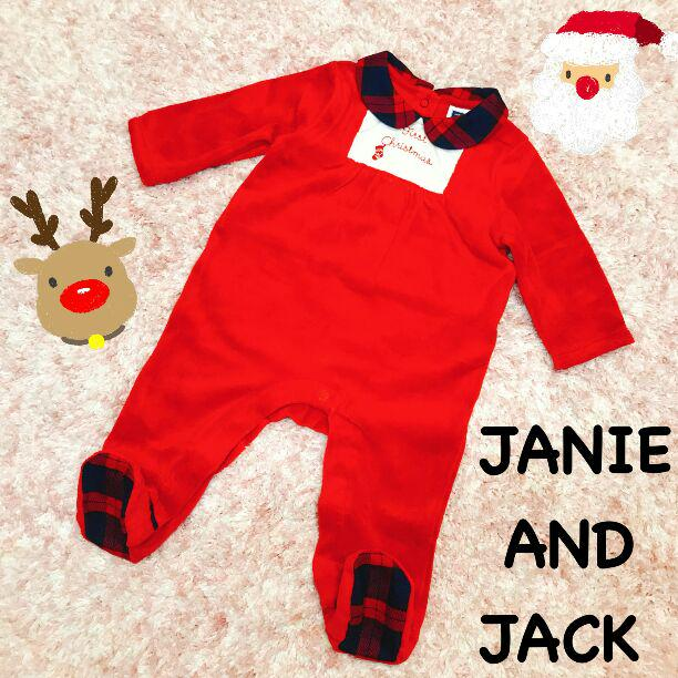 048164fc7c91b  生まれたばかりの赤ちゃんへ クリスマスカバーオール☆インポートブランドこども服