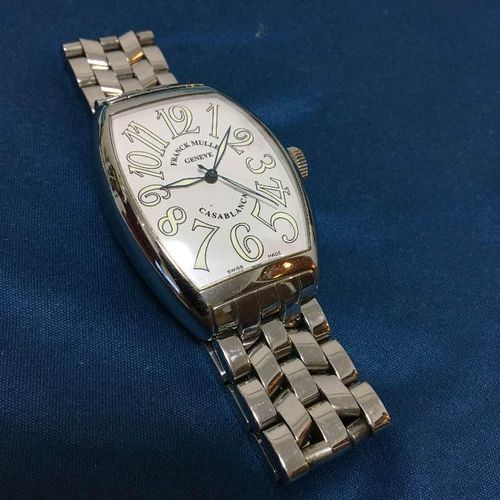 buy popular af840 e2a33 半額!!フランクミュラー、カサブランカ6850、メンズ腕時計(¥250,000) - メルカリ スマホでかんたん フリマアプリ
