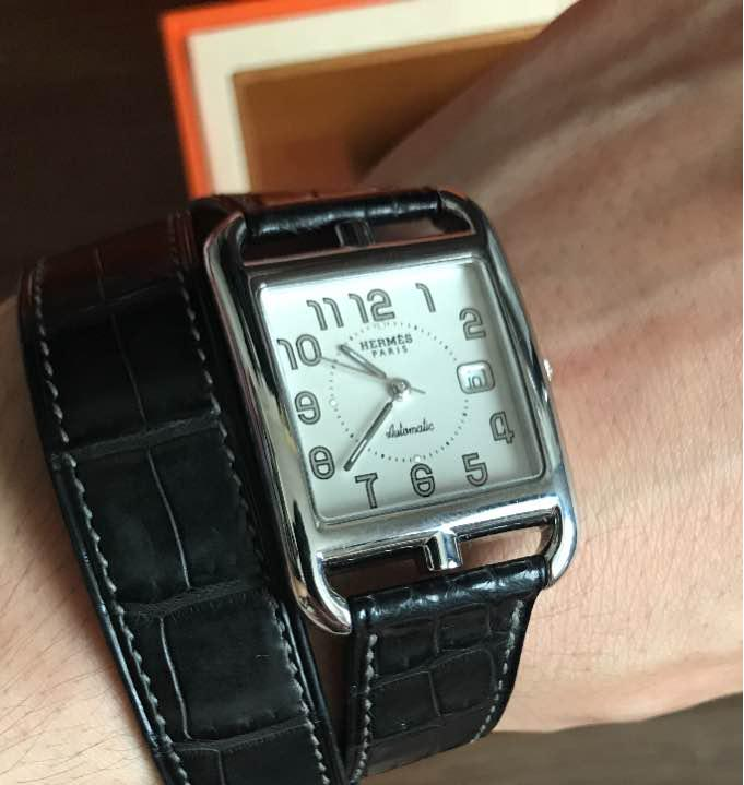 check out 83a36 a1a85 hermes capecod エルメス ケープコッド 時計 アリゲーター メンズ(¥148,000) - メルカリ スマホでかんたん フリマアプリ