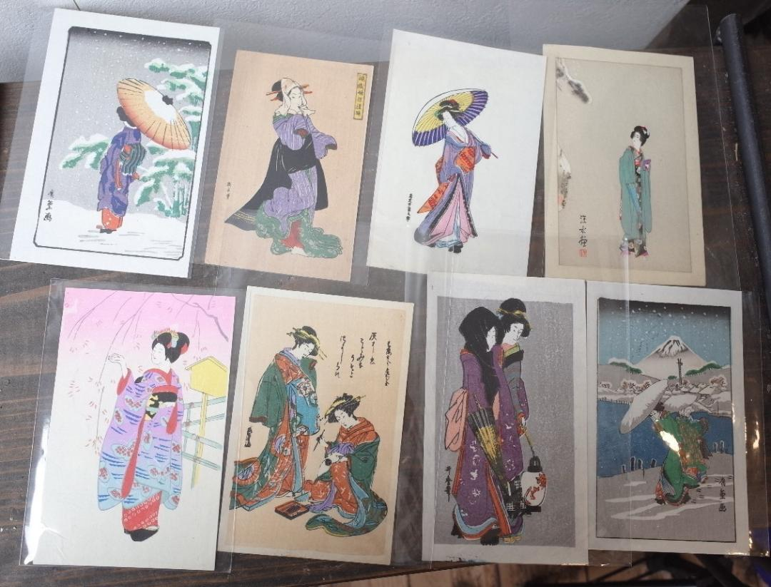 メルカリ 浮世絵 版画 48枚セット 昭和初期 美人画 江戸の風情 風景