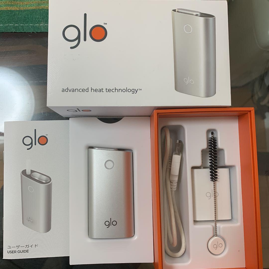 glo グロー アイコス 本体 電子タバコ 加熱式タバコ 美品(¥2,590) , メルカリ スマホでかんたん フリマアプリ