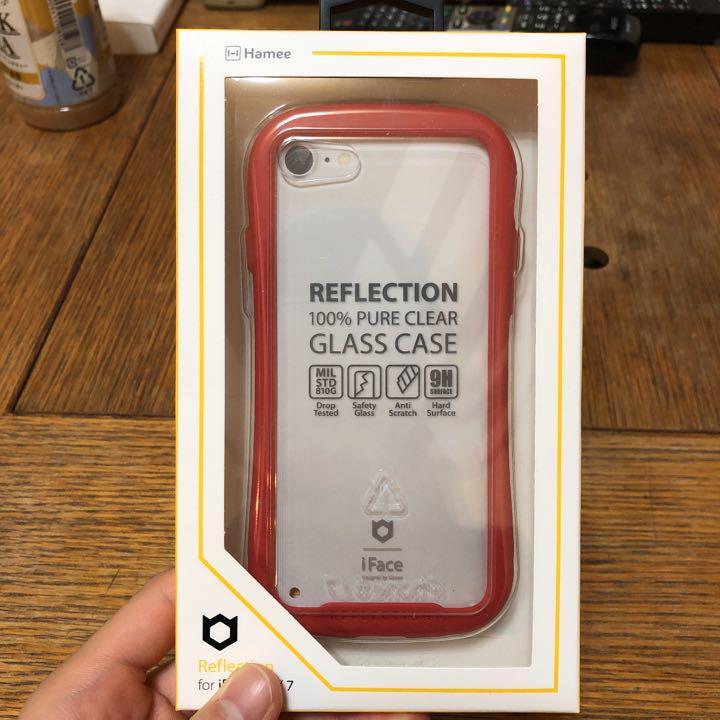 58bbd0afc4 メルカリ - iFace Reflection強化ガラスクリアケース 8/7専用 レッド ...