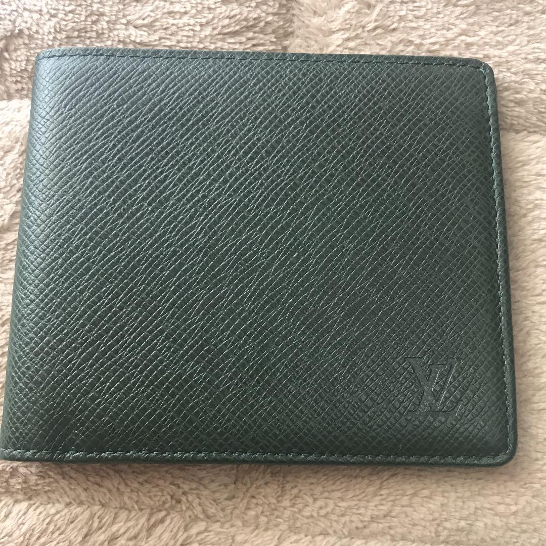 best loved 5c5f7 7ae53 ルイヴィトン タイガ 二つ折り財布 【未使用】(¥14,500) - メルカリ スマホでかんたん フリマアプリ