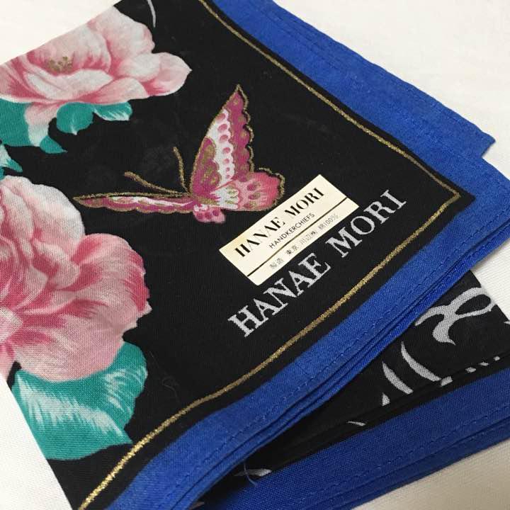 メルカリ - ハナエモリ 蝶と薔薇 綿ハンカチ 【森英恵】 (¥699) 中古や ...