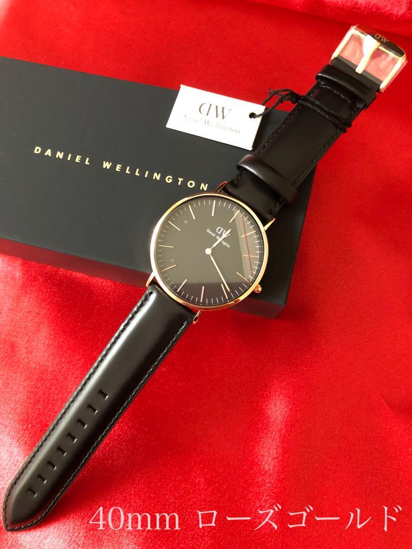 912933bd2c メルカリ - ❗️DW ダニエルウェリントン 腕時計 40mm ローズゴールド ...