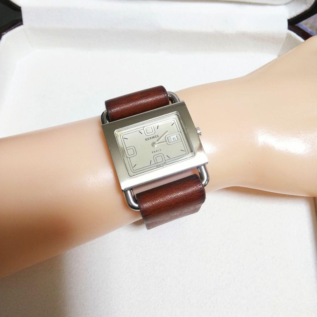 quality design 5c5e3 10dea 本日中専用です。エルメス バレニア レディース時計 NATO革ベルト選択OK(¥38,200) - メルカリ スマホでかんたん フリマアプリ