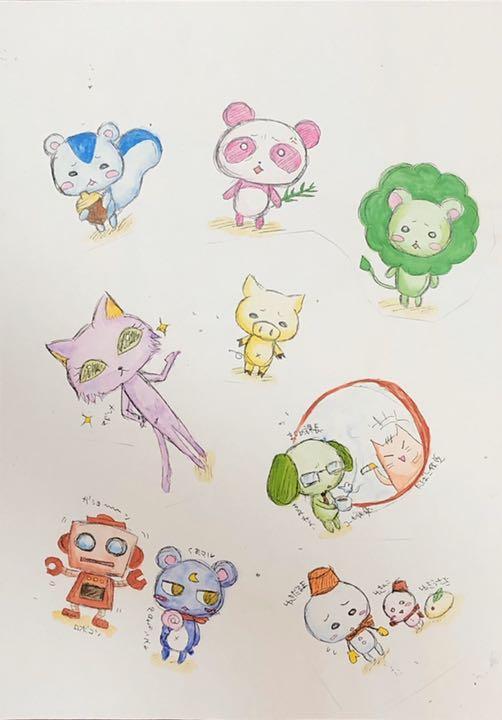手書き 動物 イラスト 子どもが喜ぶ !簡単かわいい♡動物イラストの描き方
