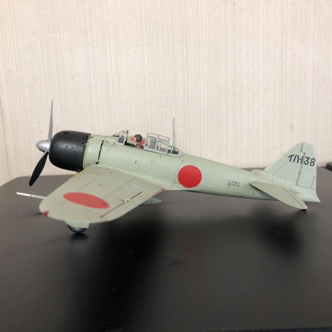メルカリ - タミヤ 1/48 零式艦上戦闘機 22型 岩国海軍航空隊 塗装済み ...